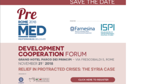 Development Cooperation Forum | Relief in protracted crises: the Syria case