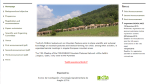 The 19th Meeting of the FAO-CIHEAM Mountain Pastures Network