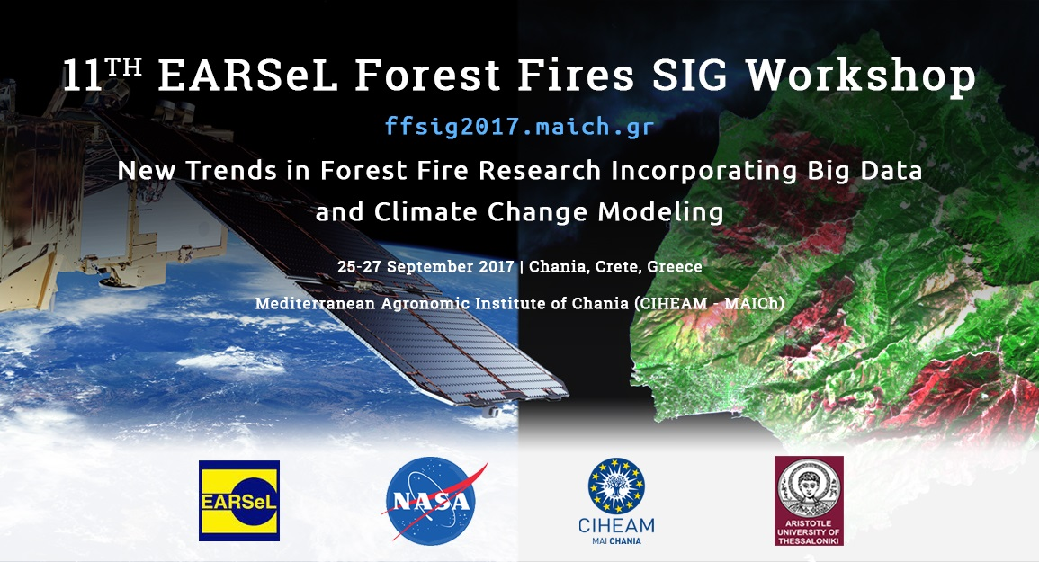 The University of Thessaloniki, the CIHEAM and the NASA work together on Forest Fire Research and Climate Change