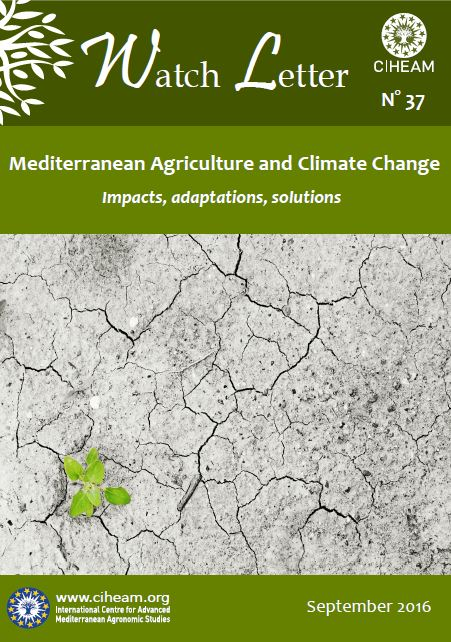 Mediterranean Agriculture and Climate Change, Impacts, Adaptations, Solutions
