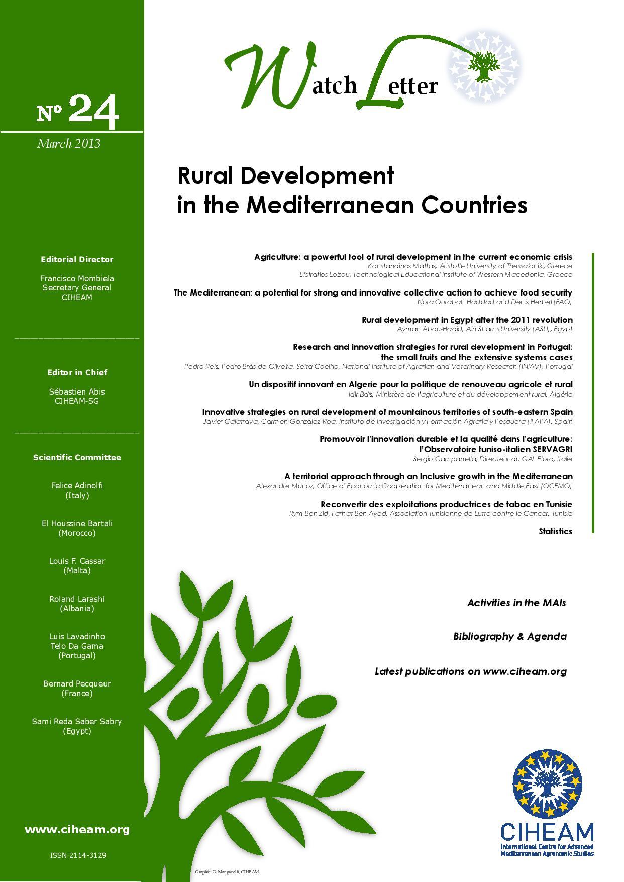 WL 24 Rural Development in the Mediterranean Countries