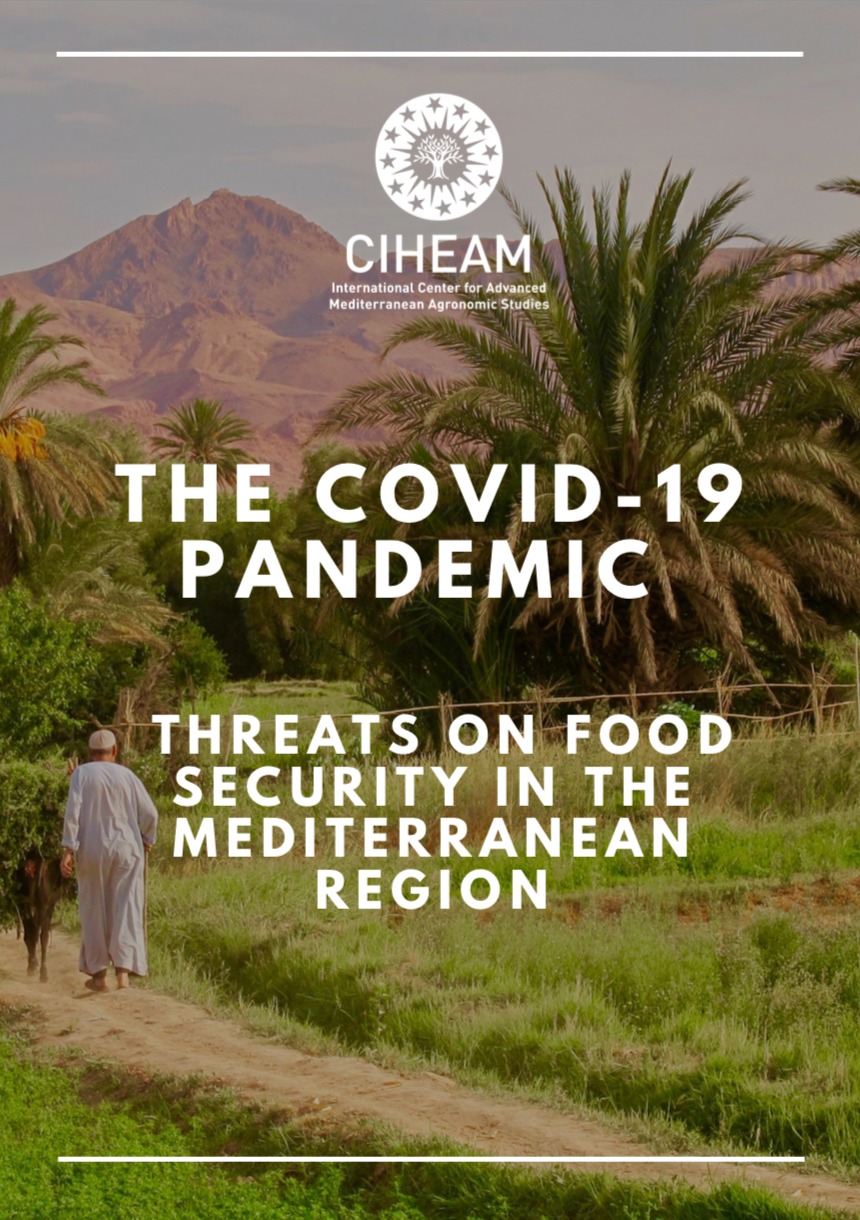 THE COVID-19 PANDEMIC : THREATS ON FOOD SECURITY IN THE MEDITERRANEAN REGION