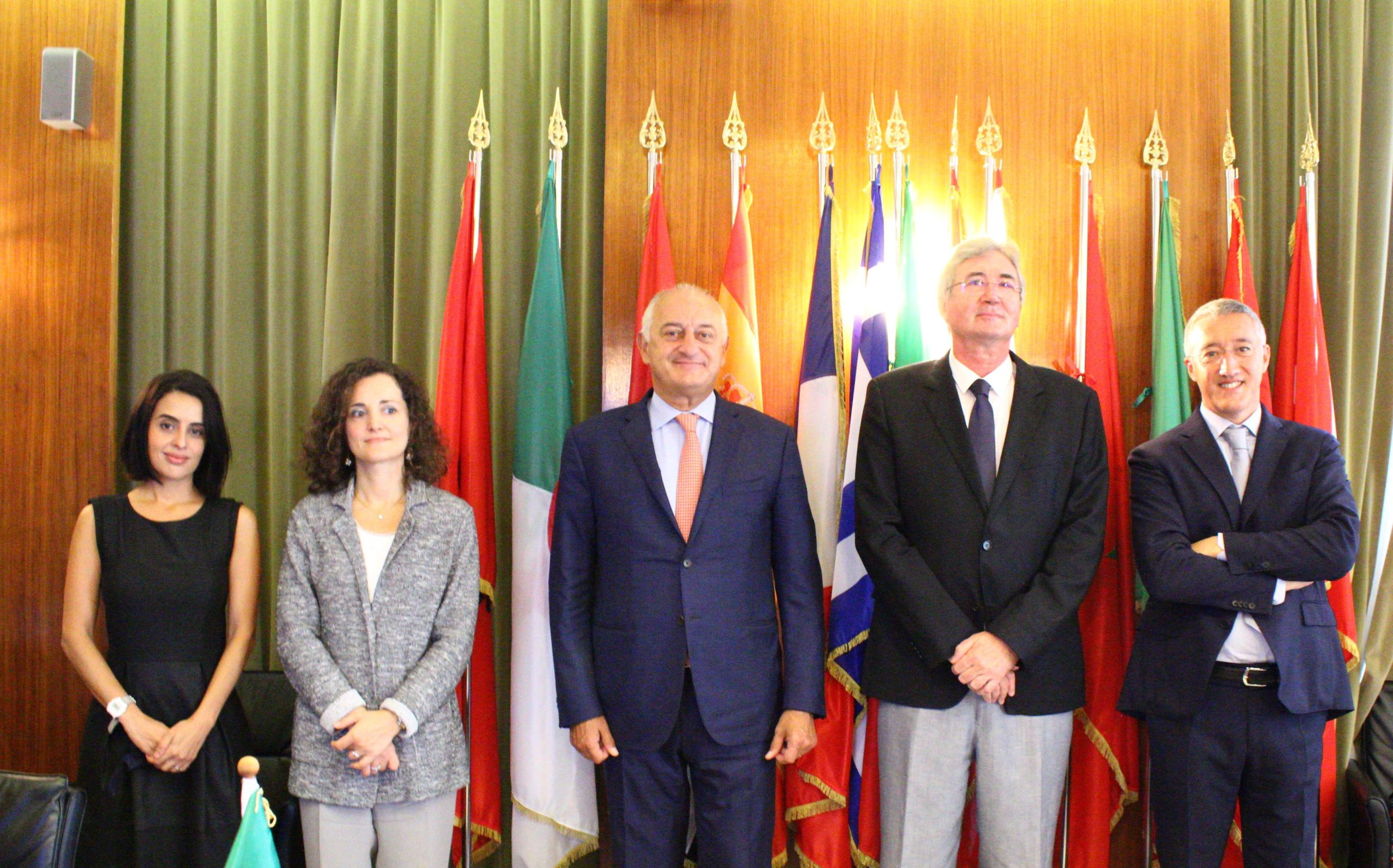 Visit to the CIHEAM of the Permanent Representative of Italy to International Organisations in Paris