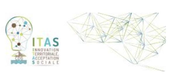 Innovation Territoriale, Acceptation Sociale – ITAS
